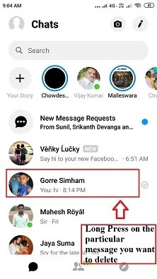 How to Delete Facebook Messages in Android Mobile