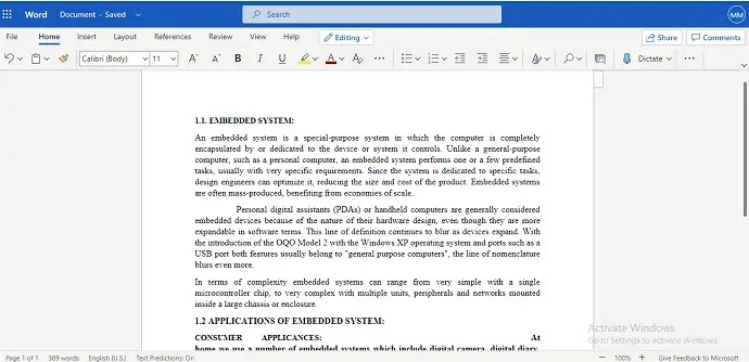 How to Add Page Break in MS Word and Microsoft 365 Word? 2