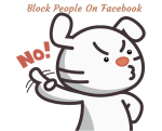 Block people on Facebook