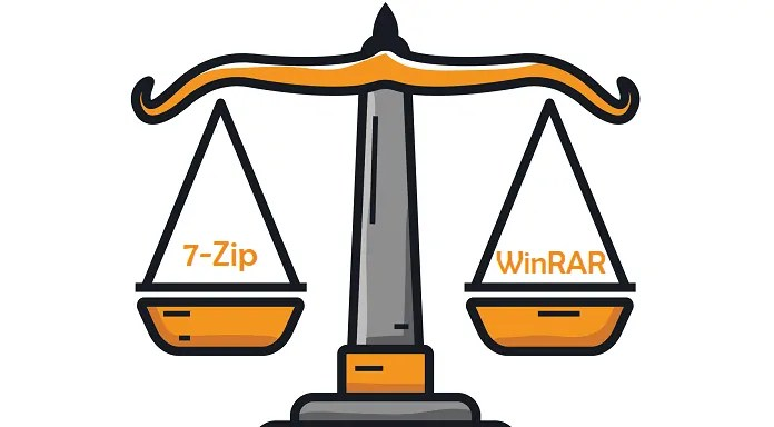 7-Zip vs WinRAR