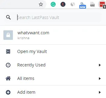 How to use LastPass For Securing your passwords 1
