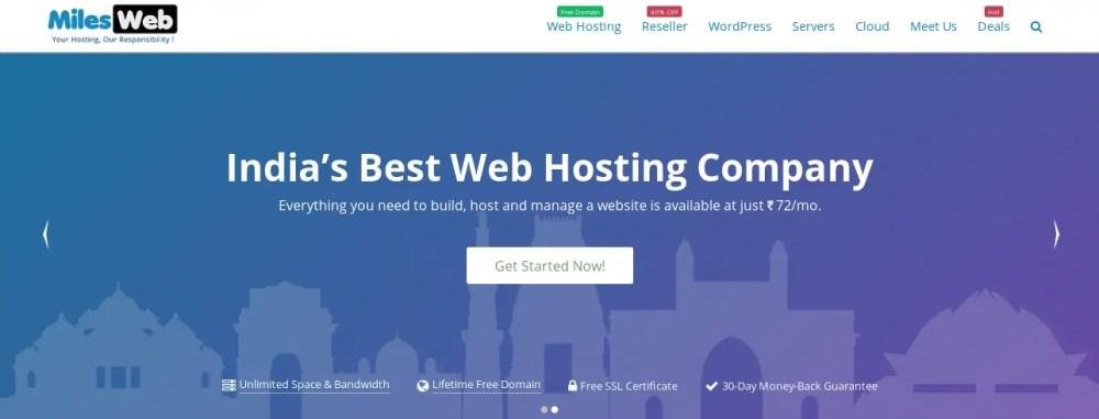 MilesWeb WordPress Hosting For Your eCommerce Store 1