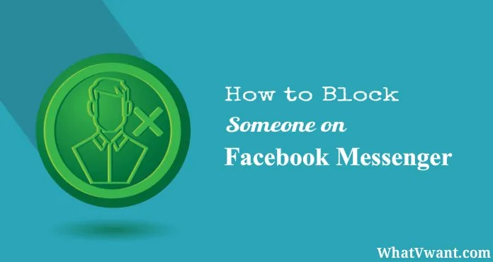 Block someone on facebook messenger