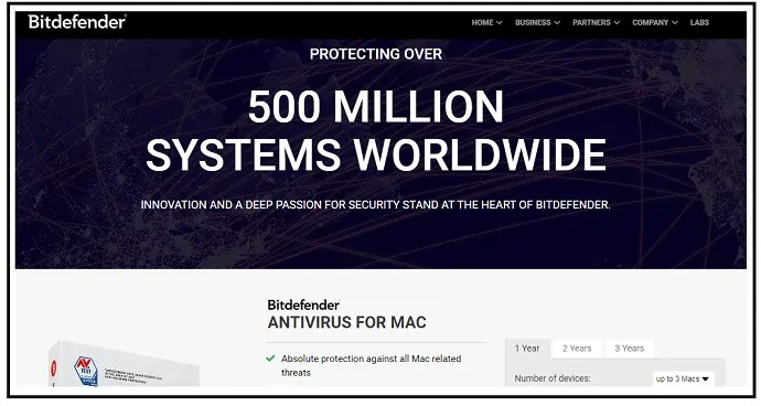 Bitdefender-Antivirus-for-Mac-Webpage