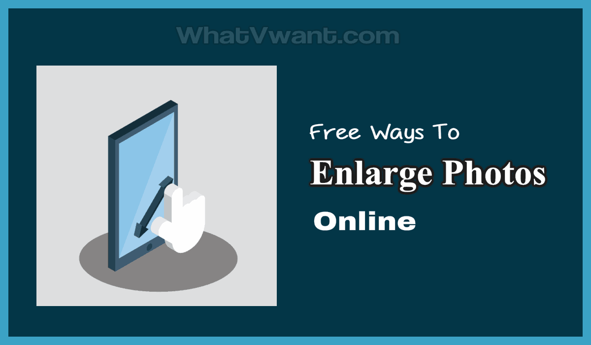 enlarge photos online