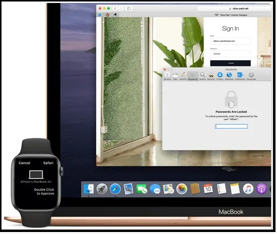 Approve Apple Watch- feature -of- macOS Catalina