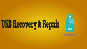 USB Recovery & Repair