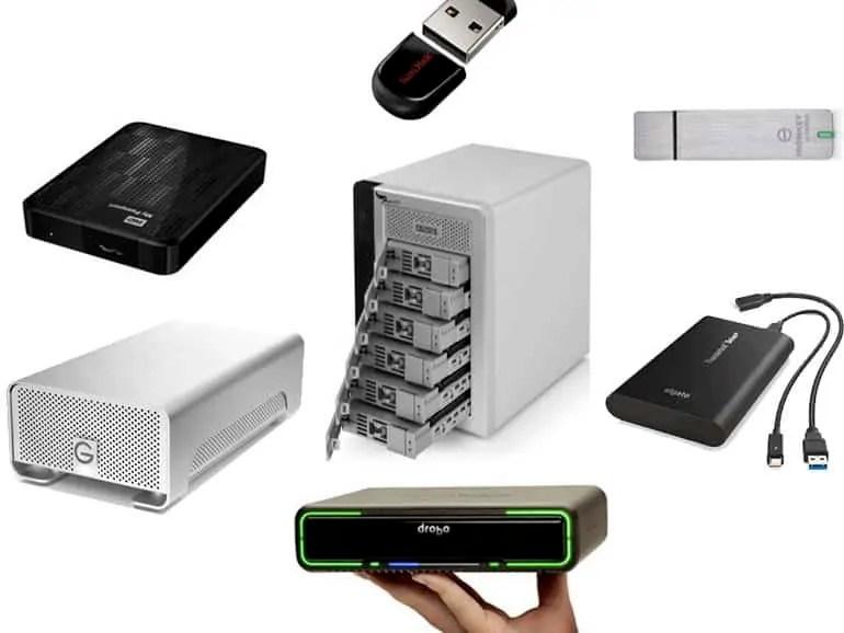 USB data storage devices