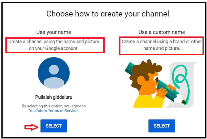 Create-Personal-or-Business-channel-on-YouTube