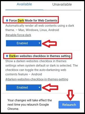 Enabling-Dark Mode-flags-on-Google-Chrome