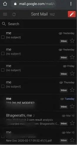 Gmail-Sent-emails-in-dark-mode
