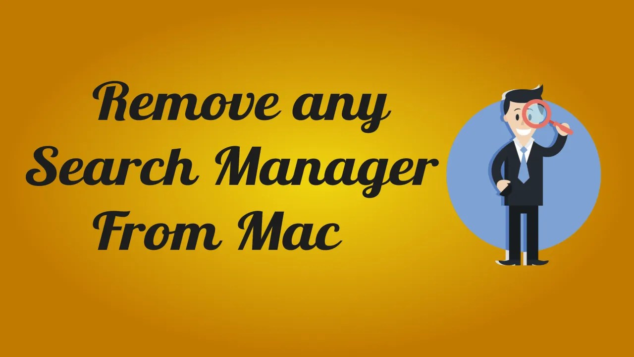 Remove Search Manager