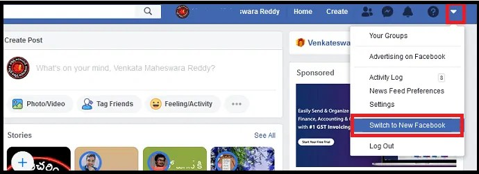 Meet The New Facebook: A Cleaner Look With White Design, Bigger Text, Dark Mode, Faster Loading Times, New Immersive Lay Out For Photos, Videos and A Lot More 1