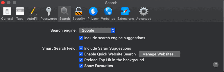 How to change search engine on mac 1