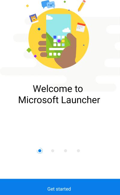 Microsoft Launcher 2020 app