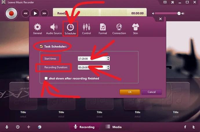 Leawo-Music-Recorder-Recording-Task-Scheduler-feature