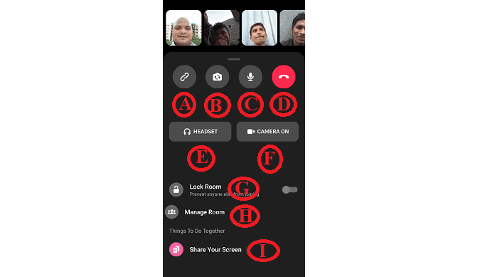 Messenger-Group-Video-Call-using-Messenger-Rooms-feature