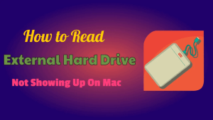 Read External Hard drive