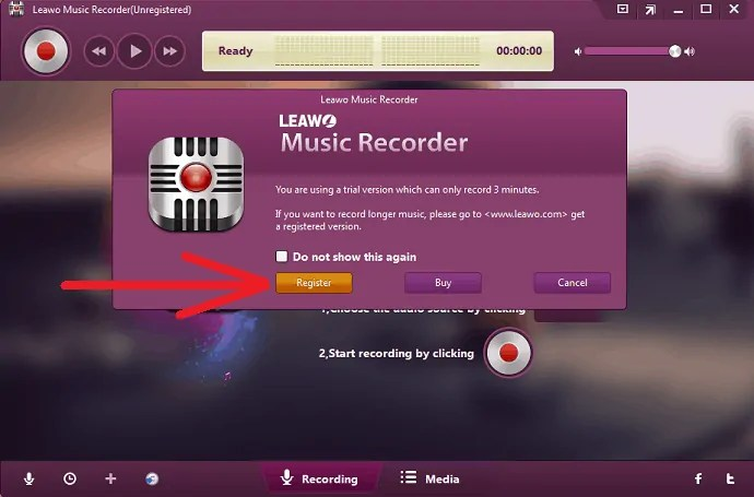 Register-Leawo-Music-Recorder
