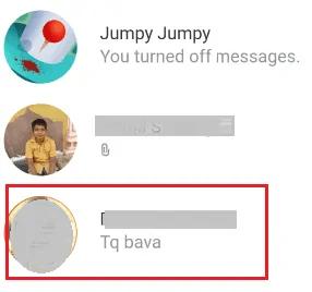 required conversation