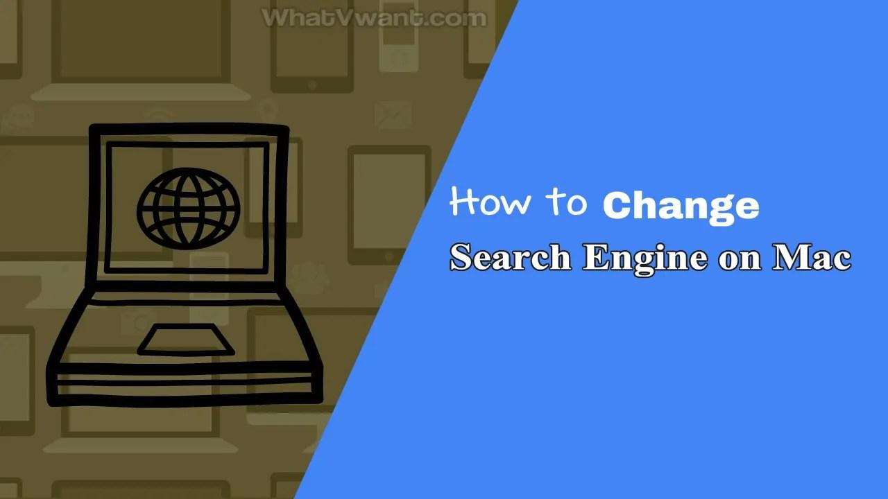 Change search engine on Mac