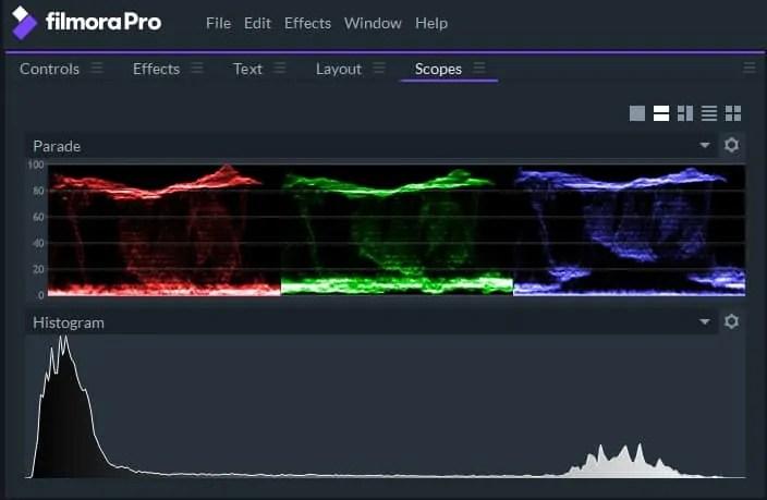 Filmora Pro noise removal