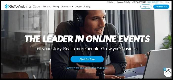 GoToWebinar-Official-Website-Page
