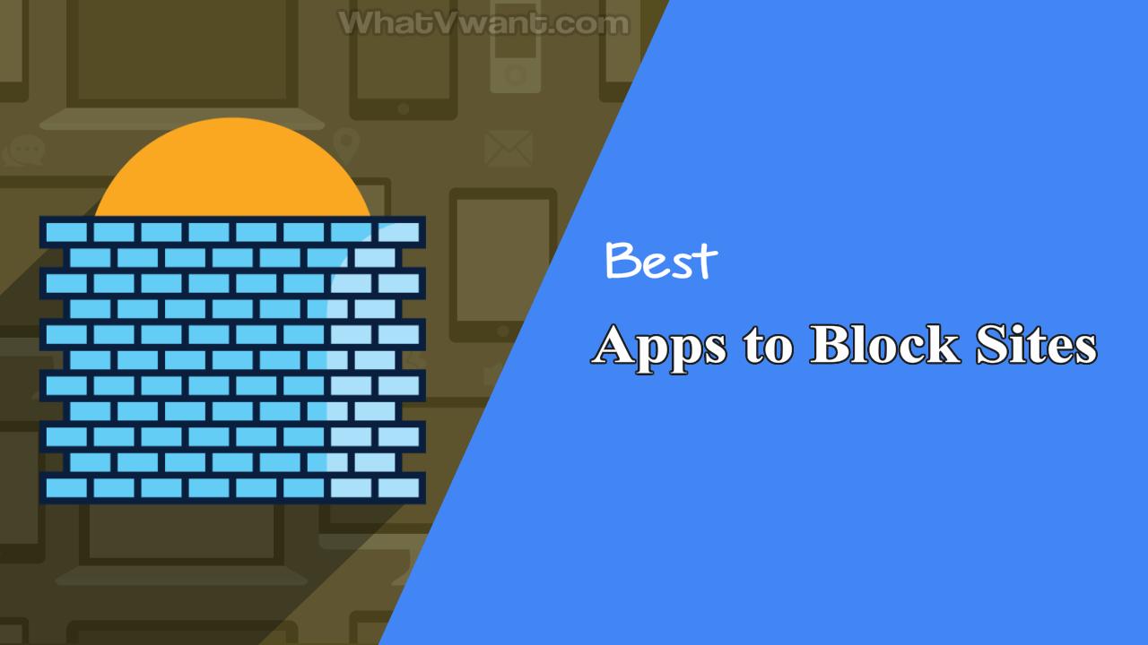 Apps to block sites