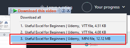 MP4 file format to download