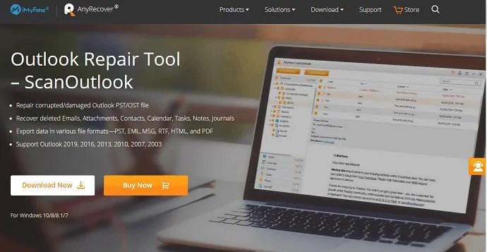 imyfone outlook repair tool