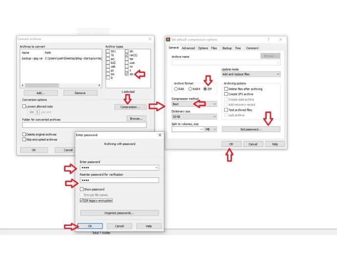 Step 4 Configure settings