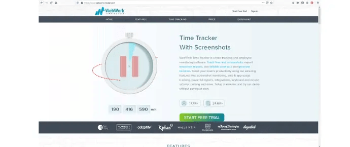 WebWork Time Tracker - Cheapest Employee Time Tracking Software