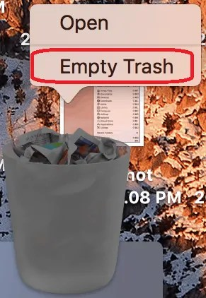 4 Ways to Empty trash on Mac to Permanently delete files 1