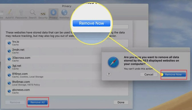 How to Manage & Clear Safari History, Cache & Cookies 19