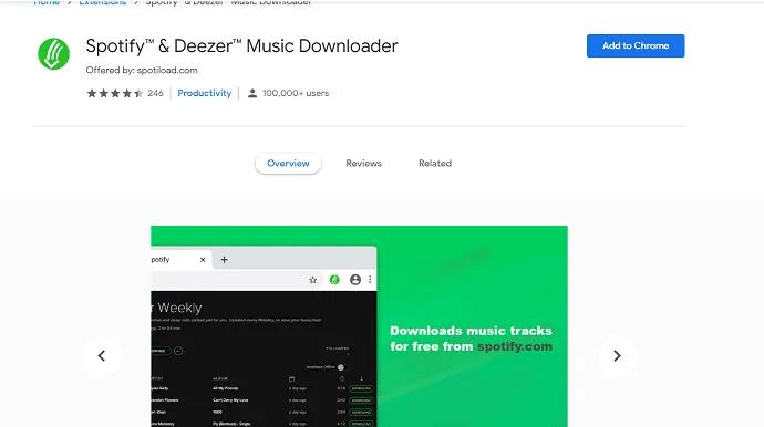 Spotify & Deezer music downloader.