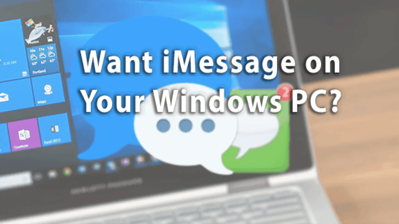 iMessage on Windows 10