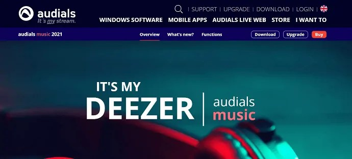 Audials- best recorder for Deezer.