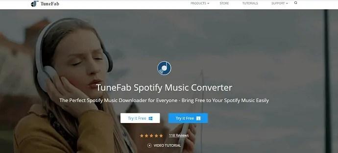Tunefab- Spotify music converter.