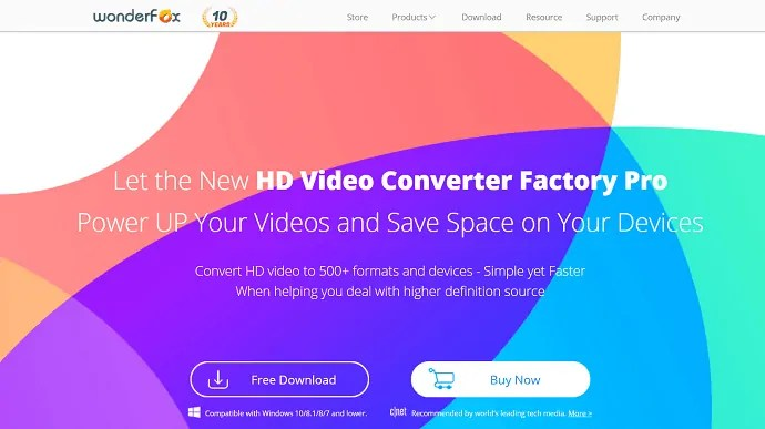 Wonderfox video converter  factory pro