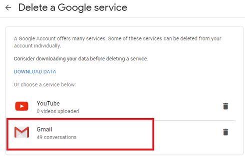 gmail serviice
