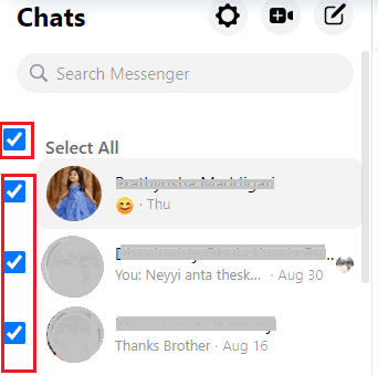 3 Ways To Delete Facebook Messages at Once 14