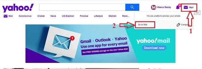 How to add, view and edit Yahoo mail contacts 1