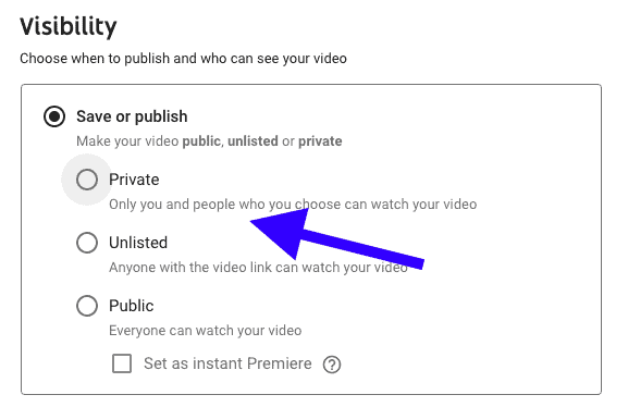private option