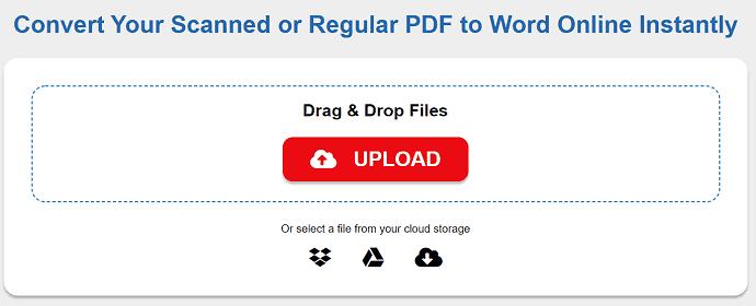6 Ways to Convert PDF To Editable Word (Free Online & Offline) 9