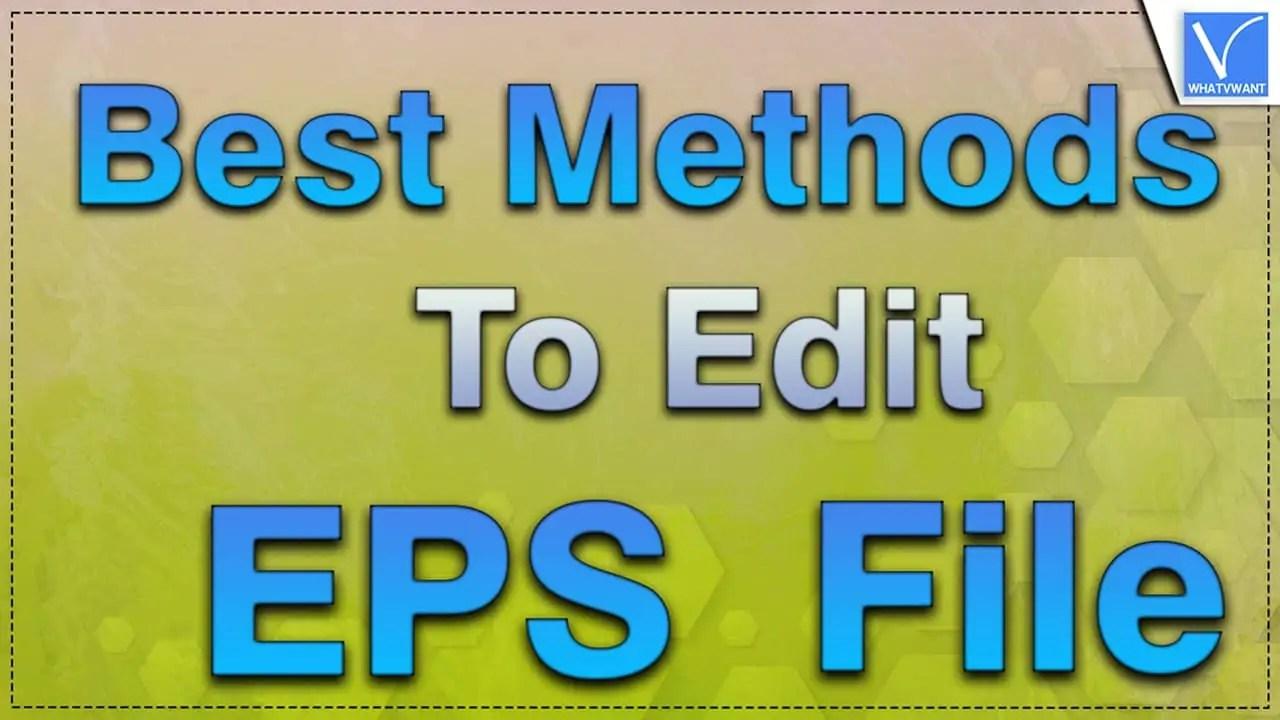 Edit EPS