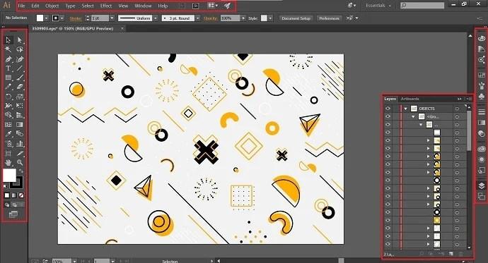 Edit EPS file in Adobe illustrator