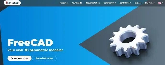 FreeCAD homepage