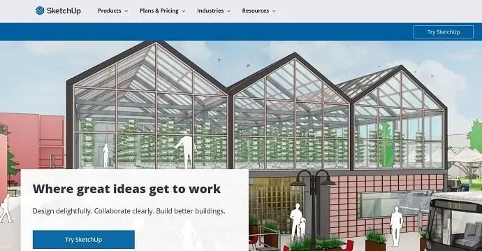SketchUp Homepage