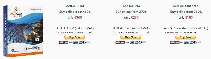 TrueCAD Product Pricing