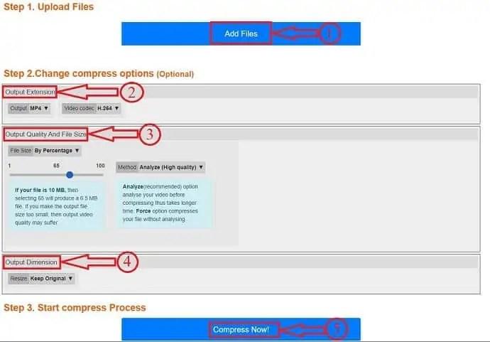 PS2PDF compression steps